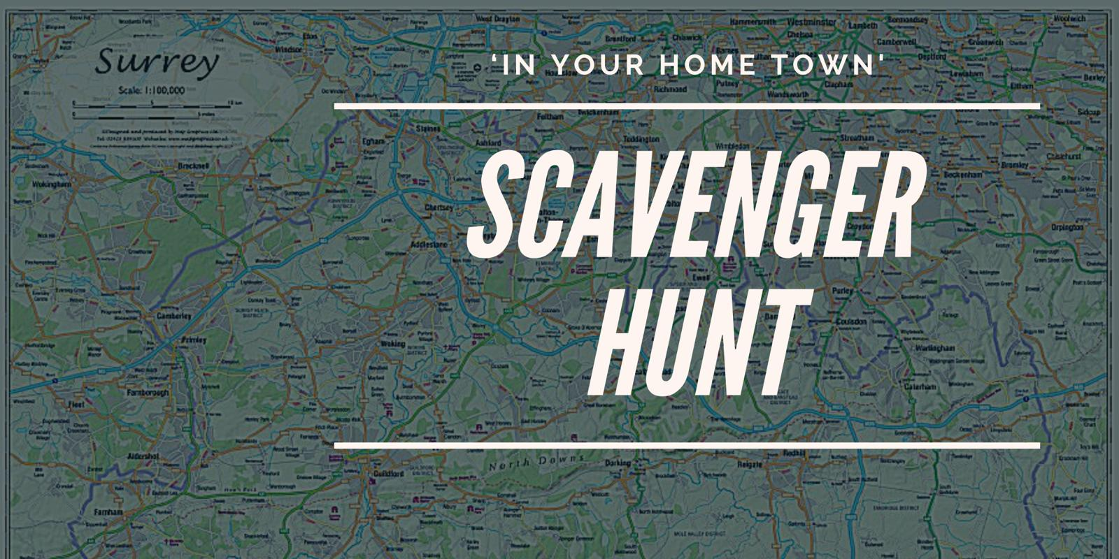 SFWI September Challenge #2: Scavenger Hunt