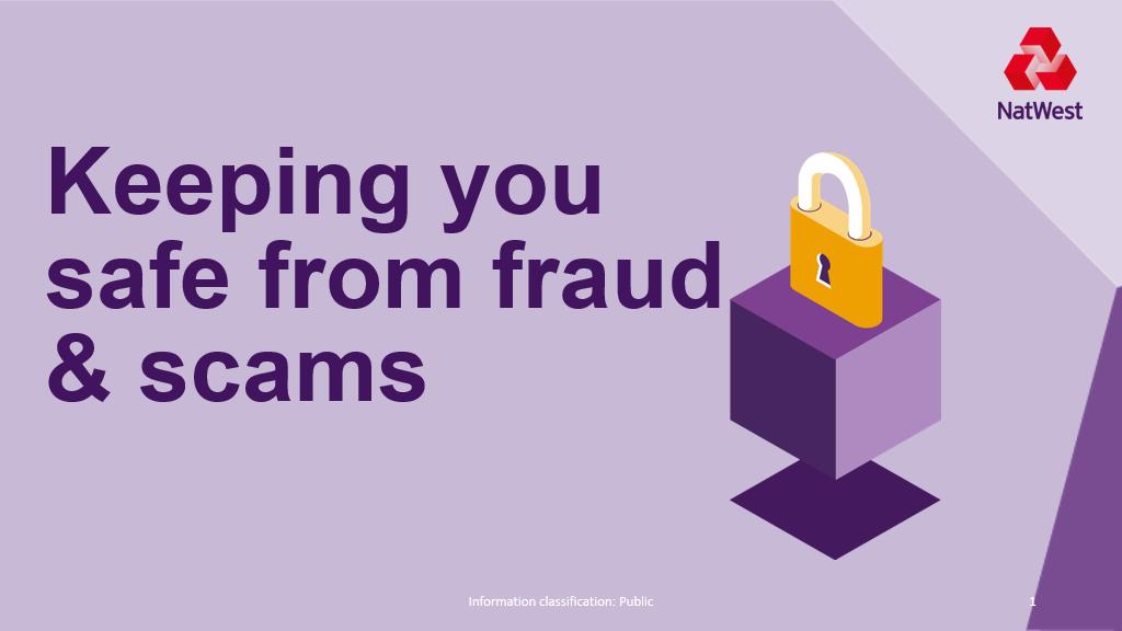 Keeping You Safe From Fraud and Scams